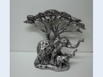 Elefanten Skulptur GILDE