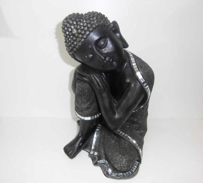 Buddha GILDE Skulptur, 25 cm hoch