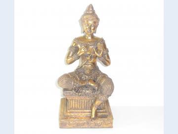 Buddha aus Kunststein 31 cm hoch