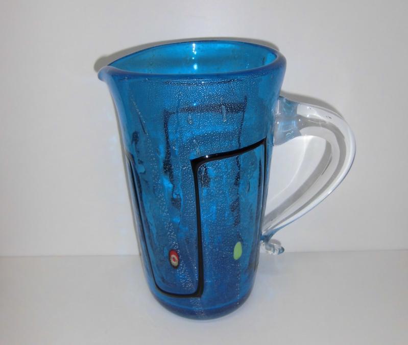 Karaffe aus Glas, 25 cm hoch