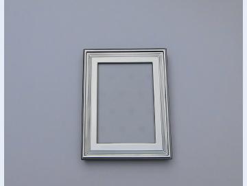 Fotorahmen versilbert 9 x 13 cm